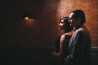couples romantic social club engagement wedding photo portrait
